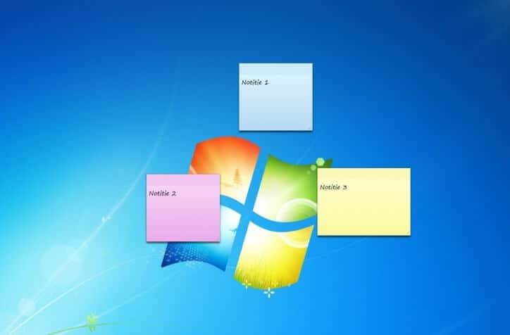 Windows plaknotities