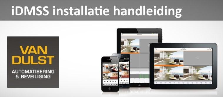 iDMSS installatie handleiding
