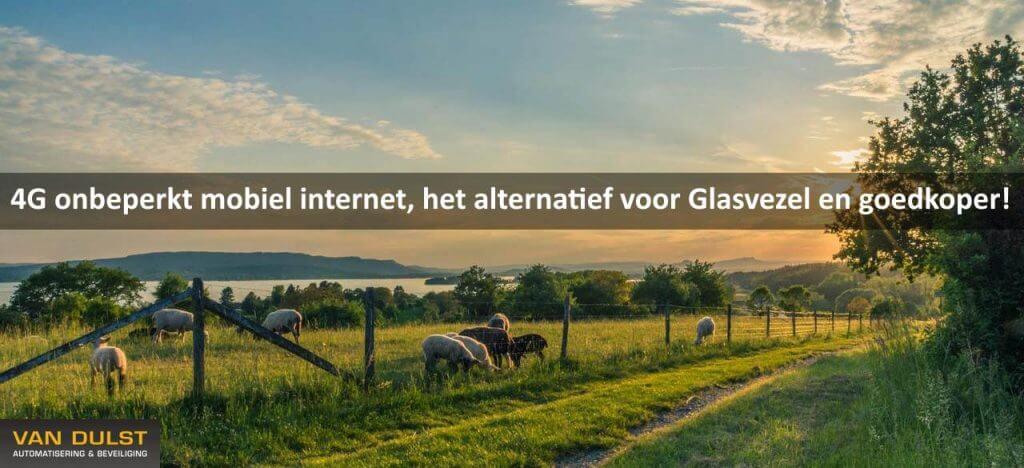 4g onbeperkt Internet buitengebied